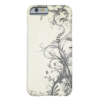 Vintage floral design barely there iPhone 6 case