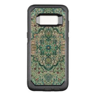 Vintage Floral Design Ethnic Motive OtterBox Commuter Samsung Galaxy S8 Case