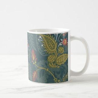 Vintage Floral Fabric (90) Coffee Mug