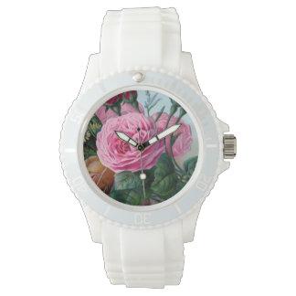 Vintage Floral/ Faith Watch