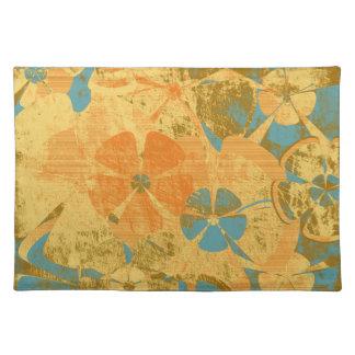 Vintage Floral Fashion Placemats