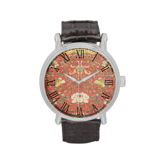 Vintage Floral Flower Pattern Watches