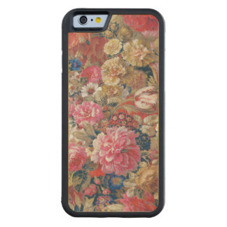 Vintage Floral French Nineteenth Century Carved Maple iPhone 6 Bumper Case