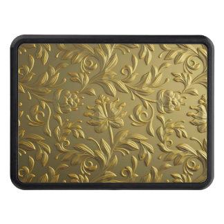 vintage,floral,gold,elegant,chic,beautiful,antique trailer hitch cover