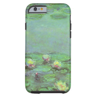 Vintage Floral Impressionism, Waterlilies by Monet Tough iPhone 6 Case