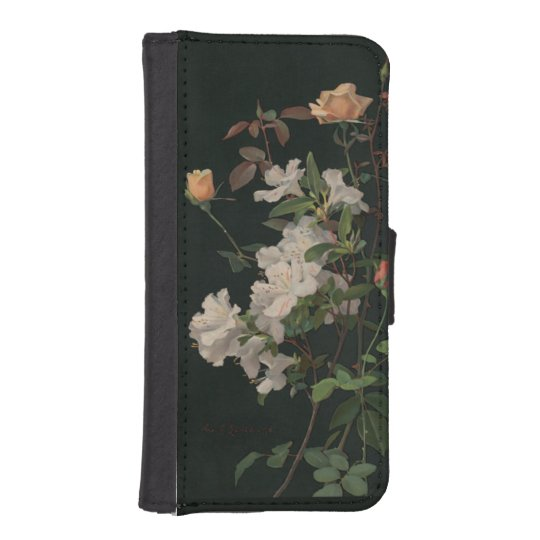 Vintage Floral iPhone 5 Wallets