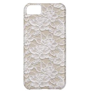 Vintage Floral Lace iPhone 5C Cases