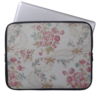 Vintage Floral Laptop Sleeve