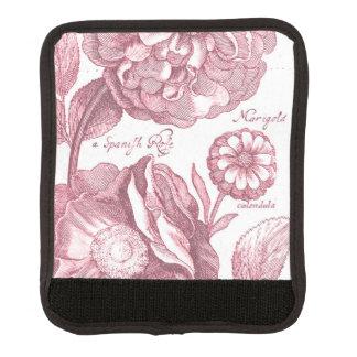 Vintage Floral Marigolds Luggage Handle Wrap