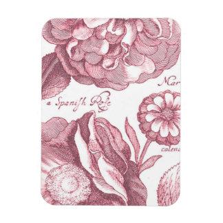 Vintage Floral Marigolds Magnet
