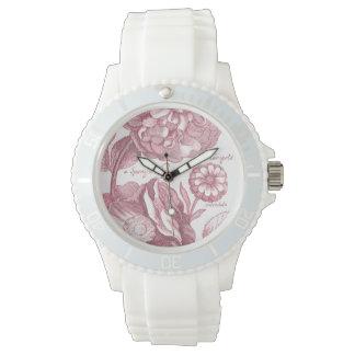 Vintage Floral Marigolds Wristwatches