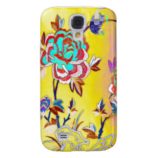 Vintage Floral Nature Watercolor Galaxy S4 Cover