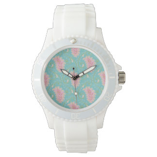 Vintage Floral Paisley Pattern Watch