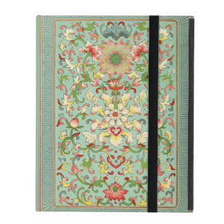 Vintage Floral Passion Flower iPad Cover