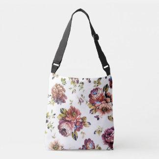 Vintage Floral Pattern All-Over-Print Bag