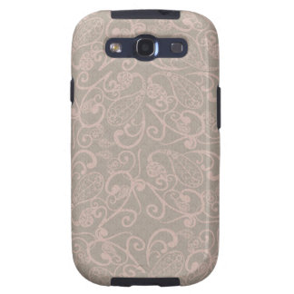 vintage floral pattern galaxy s3 case