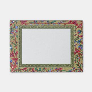 Vintage Floral Pattern Post-it® Notes
