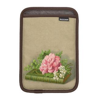 Vintage Floral Peony Classy Book Elegant iPad Mini Sleeves