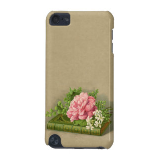 Vintage Floral Peony Classy Book Elegant iPod Touch (5th Generation) Cover