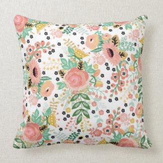 Vintage Floral Pillow