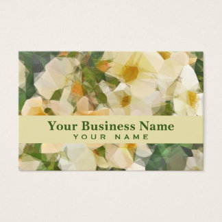 Vintage Floral Prism Business Card