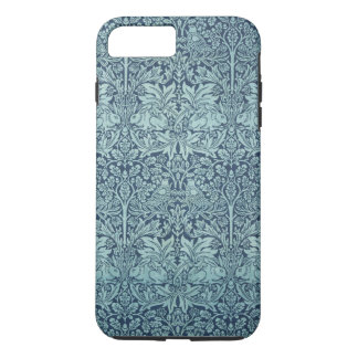Vintage Floral Rabbit Birds Pattern iPhone 7 Plus Case