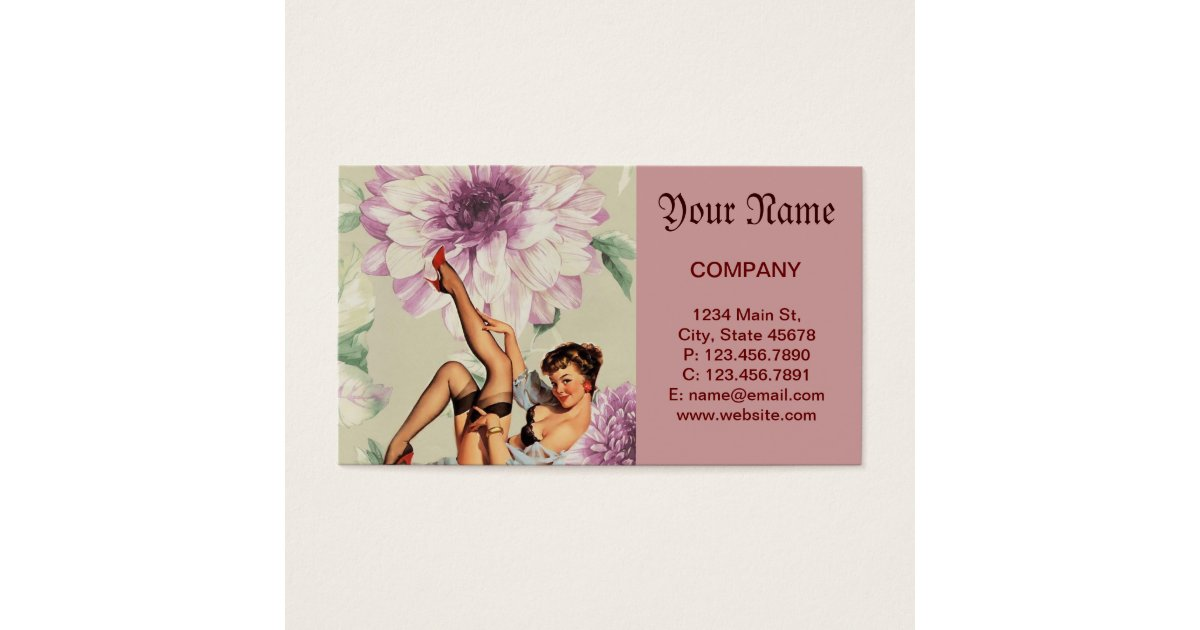 Comfortable pin up girl business cards images business card ideas great pin up business cards gallery business card ideas etadamfo colourmoves Choice Image
