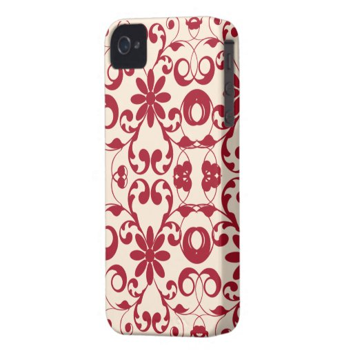 Vintage floral shabby and chic pattern blackberry bold cover
