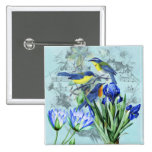 Vintage Floral Songbirds Apparel and Gifts