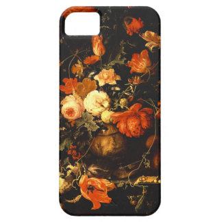 Vintage Floral Still Life - Abraham Mignon Case For The iPhone 5