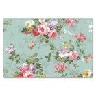 Vintage Floral Wallpaper Tissue Paper