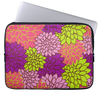 Vintage Floral Wallpapper Laptop Sleeve