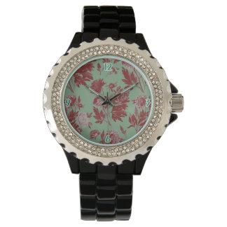 Vintage Floral Watch 2 Fancy