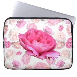 """Vintage Floral Water Resistant 13"""" Laptop Sleeve"""