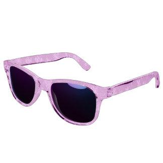 Vintage Floral Watermelon Pink Sunglasses