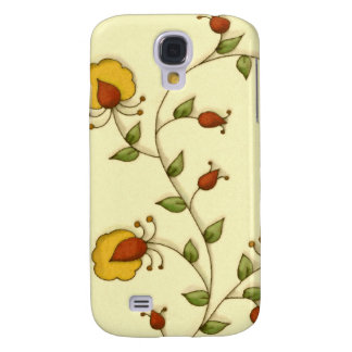 Vintage Floral Yellow Flower Garden  iPhone 3 Case