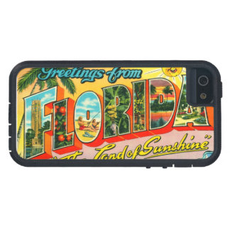 Vintage Florida iPhone 5 Cases