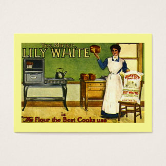 VINTAGE FLOUR ADVERTISING KITCHEN GIFT TAG CARDS