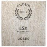 Vintage Flour Sack Napkins