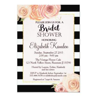 Vintage Flower Bridal Shower invitation