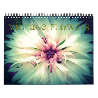 Vintage Flower Calendar