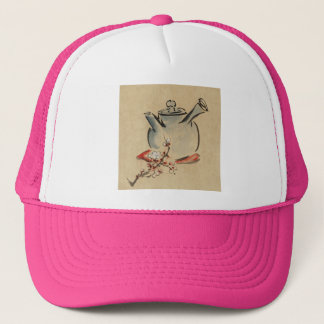 vintage flower flora Personalize Destiny Destiny'S Trucker Hat