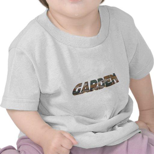 Vintage Flower Garden T-shirts