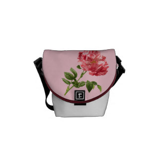 Vintage Flower Graphic Courier Bags