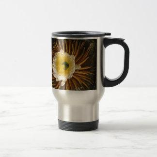 Vintage Flower Night-Blooming Cereus Thornton Travel Mug