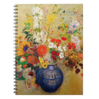 Vintage Flower Painting Notebook