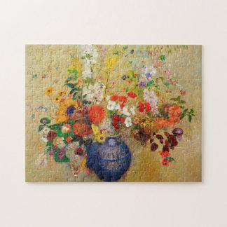 Vintage Flower Painting Puzzle