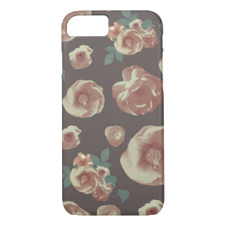 Vintage flower phone case