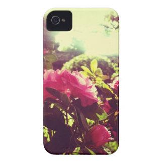 Vintage Flower Pink Iphone Case