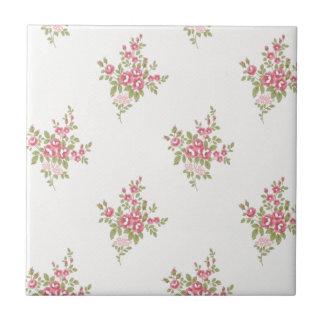 Vintage Flower Power Ceramic Tiles